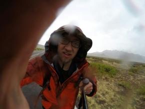 A rainy New Mexico day