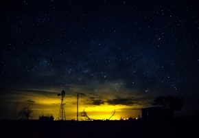 The Night Sky in New Mexico